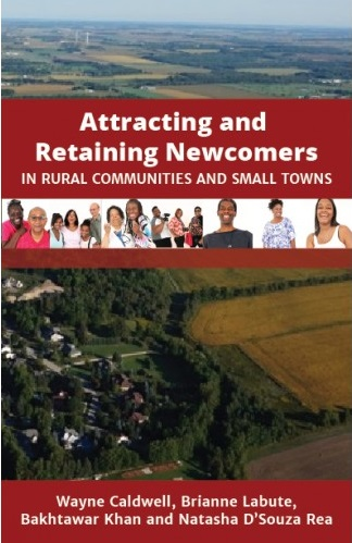 Book cover, Attracting and Retaining Newcomers